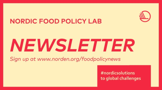 Nordic Food Policy Lab Newsletter